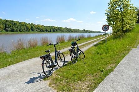 Fahrradtour am Nord-Ostsee-Kanal