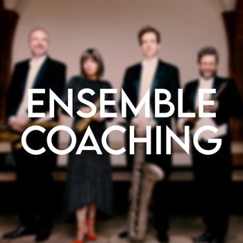 Raschèr Baltic Academy - Ensemble Coaching